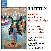 Britten: Bridge Variations, etc / Bedford, English CO