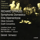 Strauss: Symphonia Domestica, etc / Schwarz, et al