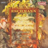 Eschmann: String Quartet, etc / Ceruti Quartet, et al