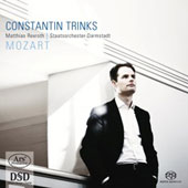 Mozart: Three Arias; Ballo from Ascanio in Alba / Mattias Rexroth, countertenor. Staatsorchester Darmstadt, Constantin Trinks