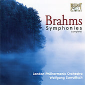 Brahms: Symphonies, etc / Sawallisch, London PO, et al