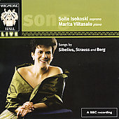 Sibelius, Strauss, Berg: Songs / Isokoski, et al