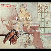 Brahms: Sonatas for Clarinet & Viola / Meyer, Xuereb, et al