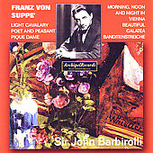 Suppé: Overtures, etc / Rubinstein, Barbirolli, London SO