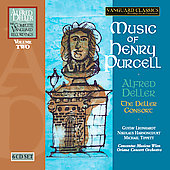 Alfred Deller - The Complete Vanguard Recordings Vol 2 - Music of Henry Purcell