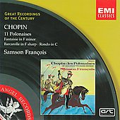 Chopin: Polonaises, Fantasie in F minor, Rondo in C major, etc / Samson Fran&ccedil;ois