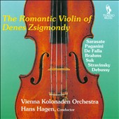 The Romantic Violin of Denes Zsigmondy