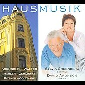 Korngold, Mahler: Hausmusik
