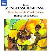 Fanny Mendelssohn-Hensel: Piano Sonatas In C & G Minor