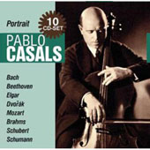 The Great Cello Player Pablo Casals
