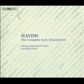 Haydn: The Complete Early Divertimenti / Huss, Standage [5 CDs]