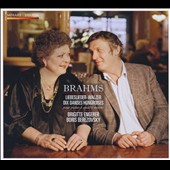 Brahms: Liebeslieder Waltzes; Hungarian Dances / Brigitte Engerer & Boris Berezovsky