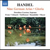 Handel: Nine German Arias; Gloria / Dorothea Craxton, soprano