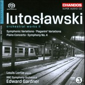 Lutoslawski: Orchestral Works, Vol. 2 / Louis Lortie, Gardner/BBC SO