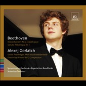 Beethoven: Piano Concerto No. 3; Piano Sonata, Op. 2/1 / Alexej Gorlatch, piano