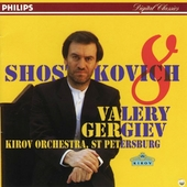 Shostakovich: Symphony no 8 / Gergiev, Kirov Orchestra