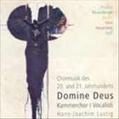 Domine Deus: Choir Music of the 20th & 21st Centuries / Kammerchor I Vocalisti