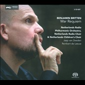 Britten: War Requiem / Evelina Dobracheva, Anthony Dean Griffey, Mark Stone, Jaap van Zweden