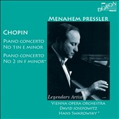 Chopin: Piano Concerto No. 1 in E minor; Piano Concerto No. 2 in F minor / Pressler, Swarowsky