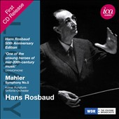 Mahler: Symphony No. 5 / Hans Rosbaud