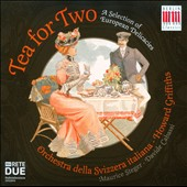 Tea for Two - works by Ibert, Delius, Elgar, Heberle, Saint-Saens, Shostakovich et al. / Maurice Steger: recorder; Davide Cabassi: piano