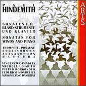 Hindemith: Sonatas for Winds and Piano Vol 2
