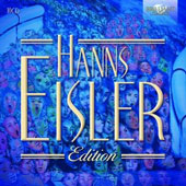 Hanns Eisler (1898-1962) Edition / various artists [10 CDs]