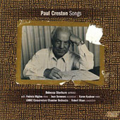 Paul Creston: Songs / Rebecca Sherburn, soprano