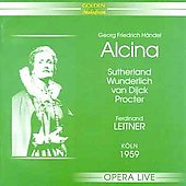 Handel: Alcina / Leitner, Sutherland, Ruggiero, et al