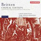 Britten: Choral Edition Vol 3 / Spicer, The Finzi Singers