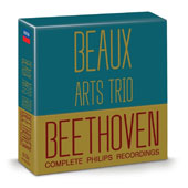 Beethoven: Complete Philips Recordings / Beaux Arts Trio [10 CDs]