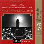 Rossini: Mos&#232; / Sawallisch, Vaness, Soffel, Araiza, et al