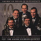 40 Years - Five Centuries of Music / American Brass Quintet