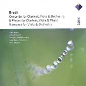 Bruch: Concerto for Clarinet, Viola and Orchestra / Nagano