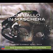 The Compact Opera Collection - Verdi: Un Ballo in Maschera