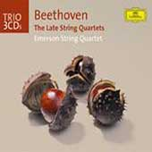 Trio - Beethoven: The Late String Quartets / Emerson Quartet