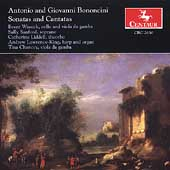A. & G. Bononcini: Sonatas & Cantatas / Wissick, Sanford