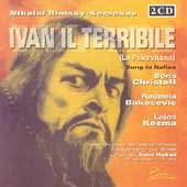 Rimsky-Korsakov: Ivan Il Terrible / Hubad, Christoff, et al