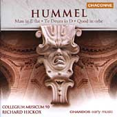 Hummel: Mass, etc / Richard Hickox, et al