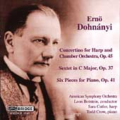 Dohn&#225;nyi: Orchestral & Chamber Music / Cutler, Crow