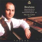 Brahms: Piano Pieces, Intermezzi, Rhapsodies / F. Lévy