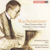 Rachmaninov: Piano Concertos 1-4, etc / Shelley, et al