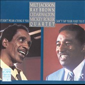 Milt Jackson: It Don't Mean a Thing If You Can't Tap Your Foot to It