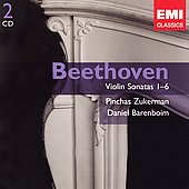 Gemini - Beethoven: Violin Sonatas 1-6 / Zukerman
