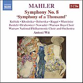 Mahler: Symphony no 8 / Wit, Warsaw National PO, et al