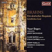 Brahms: Ein Deutsches Requiem / Seaton, Campbell, et al