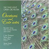 Overtures & Entr'actes - Offenbach, et al / Ohio Light Opera