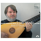 Bach: Lute Works Vol 1 / Paul O'Dette
