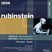 Beethoven, Chopin, Villa-Lobos, etc / Rubinstein