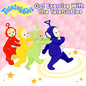 Teletubbies: Go! Exercise with the Teletubbies [Read-Along]